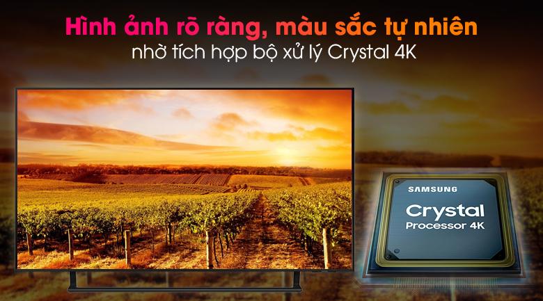 Smart Tivi Led Samsung 4K 43 inch UA43AU9000 - Chất lượng cảnh quay đẹp như bước ra từ đời thực qua bộ xử lý Crystal 4K