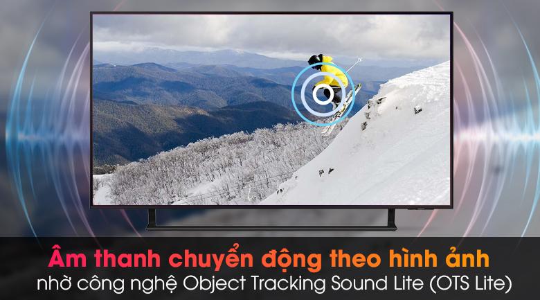 Smart Tivi Led Samsung 4K 43 inch UA43AU9000 - Hòa mình trong âm thanh chuyển động cùng hình ảnh cuốn hút qua công nghệ Object Tracking Sound Lite (OTS Lite)