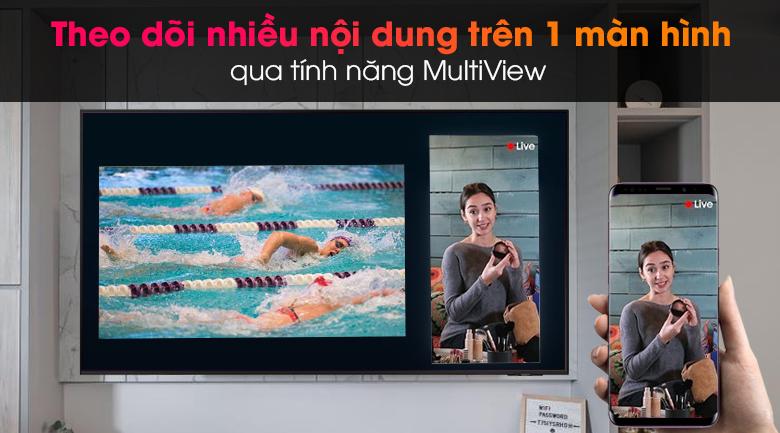 Smart Tivi Led Samsung 4K 43 inch UA43AU9000 - Trải nghiệm nhiều nội dung trên cùng 1 màn hình nhờ tính năng MultiView