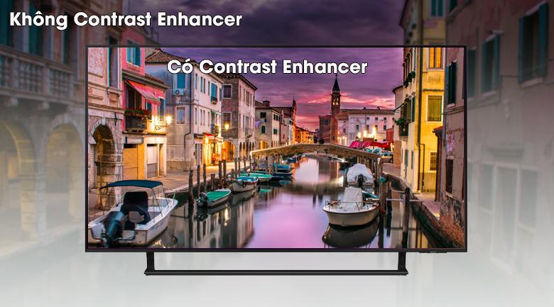 Smart Tivi Led Samsung 4K 43 inch UA43AU9000 - Gia tăng độ tương phản cho hình ảnh với công nghệ Contrast Enhancer