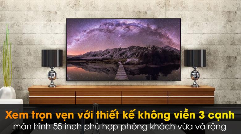 Smart Tivi Led Samsung 4K 55 Inch UA55AU9000 - Thiết kế