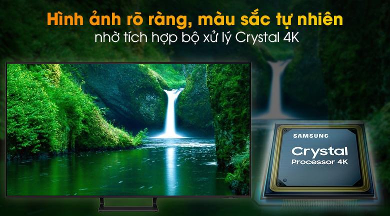Smart Tivi Led Samsung 4K 55 Inch UA55AU9000 - Crystal 4K