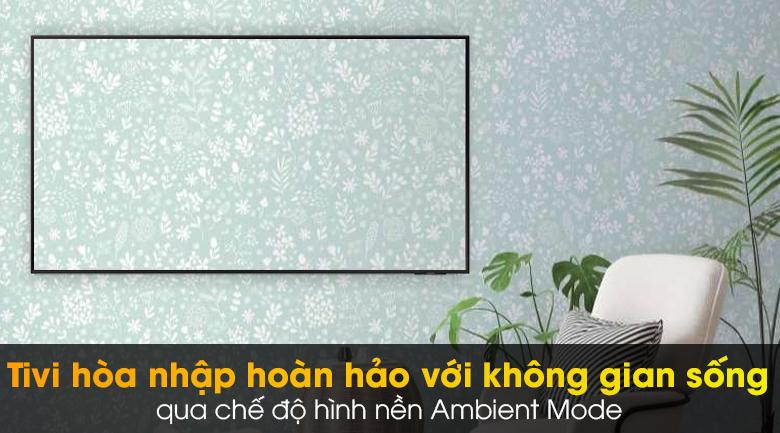 Smart Tivi Led Samsung 4K 55 Inch UA55AU9000 - Ambient Mode
