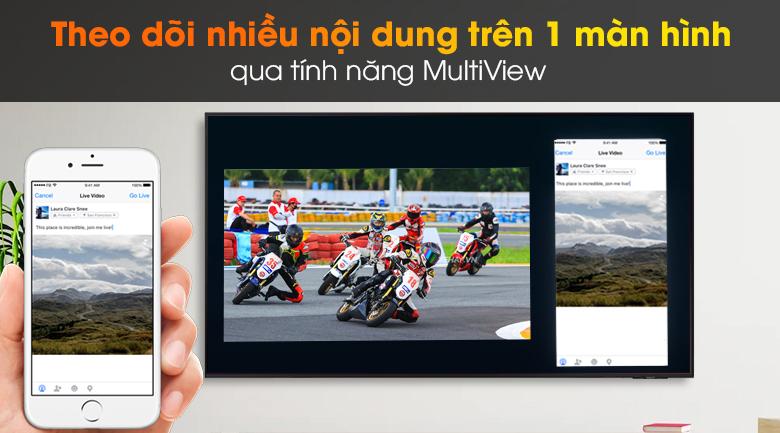 Smart Tivi Led Samsung 4K 55 Inch UA55AU9000 - Multi Vew
