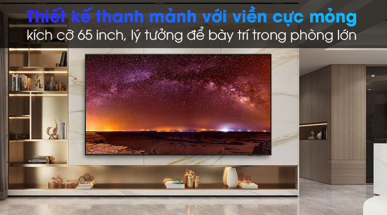 Smart Tivi Led Samsung 4K 65 inch UA65AU9000 - Thiết kế