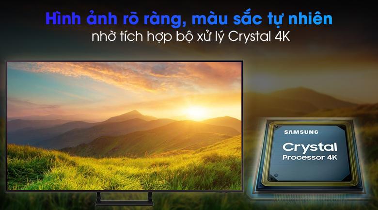 Smart Tivi Led Samsung 4K 65 inch UA65AU9000 - Crystal Processor 4K