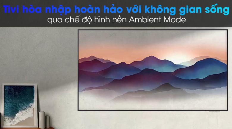 Smart Tivi Led Samsung 4K 65 inch UA65AU9000 - Ambient Mode