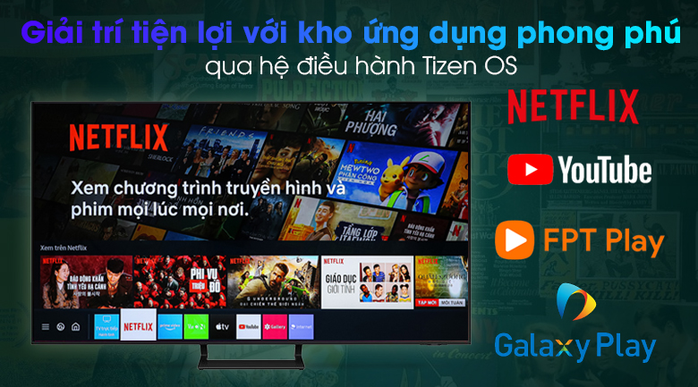 Smart Tivi Led Samsung 4K 65 inch UA65AU9000 - Tizen OS