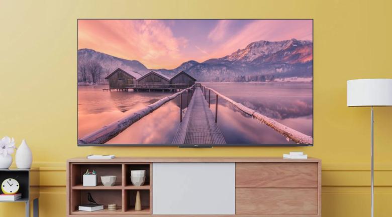 Tivi QLED 4K TCL 50Q726 - Thiết kế màn hình phẳng, tràn viền tinh tế