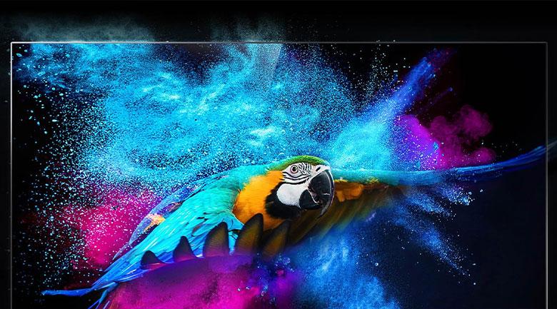 Tivi QLED 4K TCL 50Q726 - Hiển thị khung hình chất lượng chuẩn điện ảnh qua công nghệ Dolby Vision