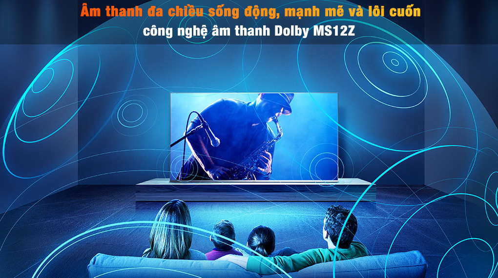 Android Tivi TCL 4K 55 inch 55P725 - DTS MS12Z