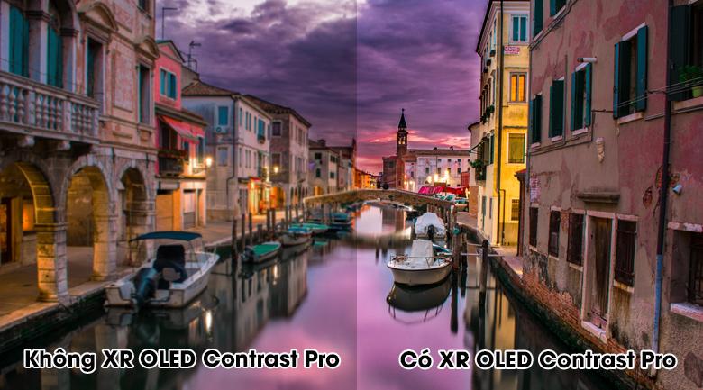 Android Tivi OLED Sony 4K 55 inch XR-55A90J - Cho độ tương phản cao trong từng cảnh quay với công nghệ tương phản XR OLED Contrast Pro
