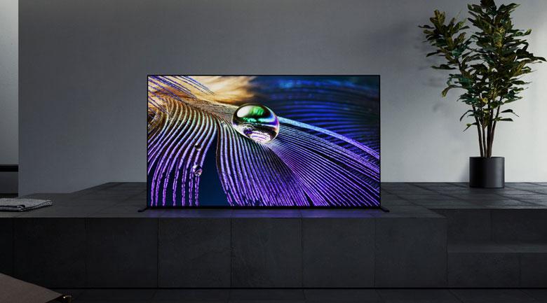 Android Tivi OLED Sony 4K 65 inch XR-65A90J - Thiết kế One Slate với màn hình tràn viền liền mạch tinh tế