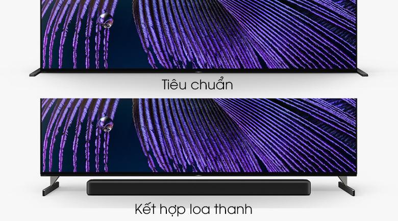 Android Tivi OLED Sony 4K 65 inch XR-65A90J - Có 2 kiểu bố trí