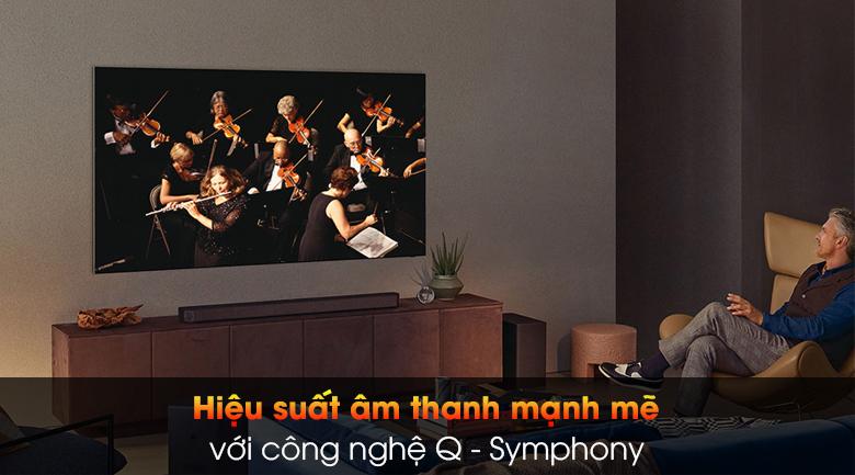 Smart Tivi The Wall Micro LED Samsung 4K 99 inch MNA110MS1A - Q - Symphony