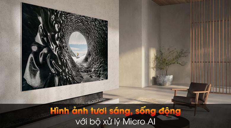 Smart Tivi The Wall Micro LED Samsung 4K 99 inch MNA110MS1A - Bộ xử lý Micro AI
