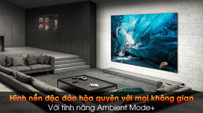 Smart Tivi The Wall Micro LED Samsung 4K 99 inch MNA110MS1A - Ambient Mode +