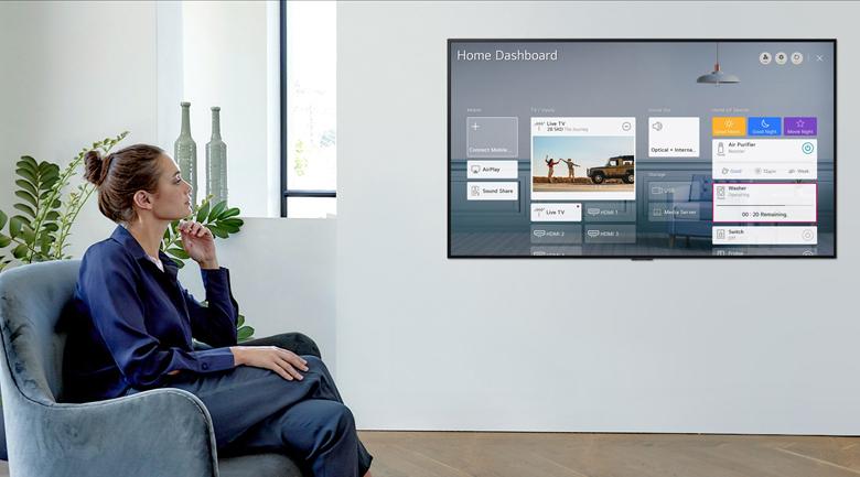 Smart Tivi LG 4K 43 inch 43UP7550PTC - Điều khiển với trí tuệ nhân tạo AI ThinQ