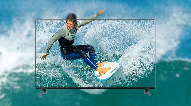 Smart Tivi LG 4K 43 inch 43UP7550PTC - Nâng cấp hình ảnh lên gần chuẩn 4K nhờ công nghệ 4K Upscaler