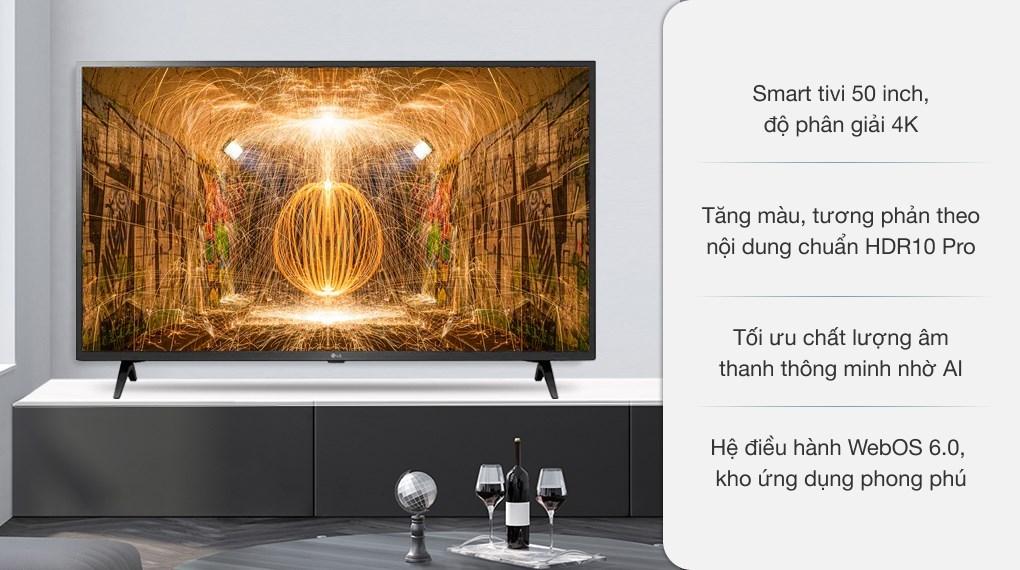 Smart Tivi LG 4K 50 inch 50UP7550PTC