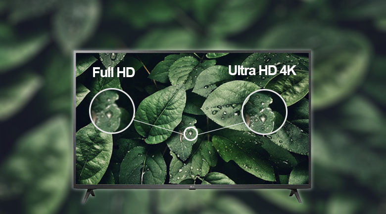 Độ phân giải 4K - Smart Tivi LG 4K 55 inch 55UP7550PTC