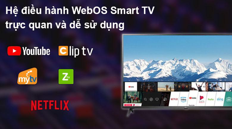 Hệ điều hành - Smart Tivi LG 4K 55 inch 55UP7550PTC