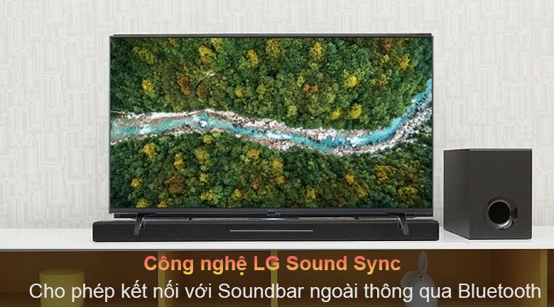 Tivi LED LG 43UP7750PTB - Đồng bộ với các thiết bị âm thanh ngoài nhờ Bluetooth