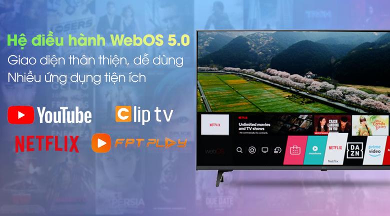 Tivi LED LG 75UP7750PTB - Hệ điều hành
