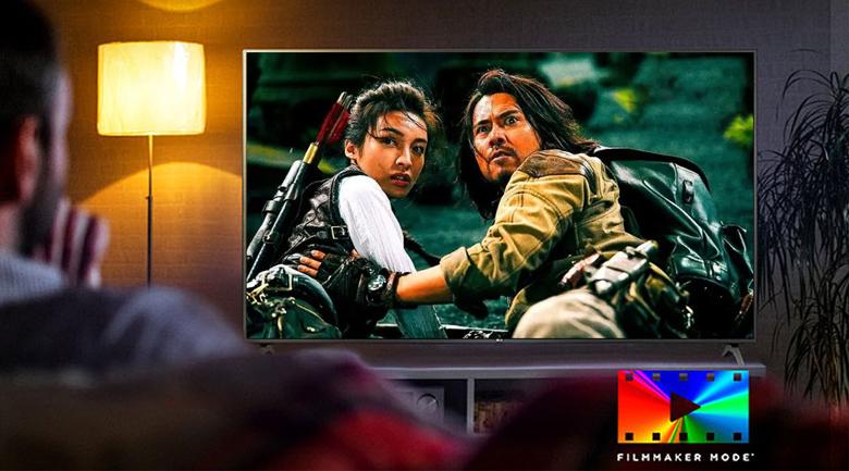 Smart Tivi NanoCell LG 4K 43 inch 43NANO75TPA - Thưởng thức bộ phim theo góc nhìn của nhà làm phim qua chế độ Filmmaker Mode