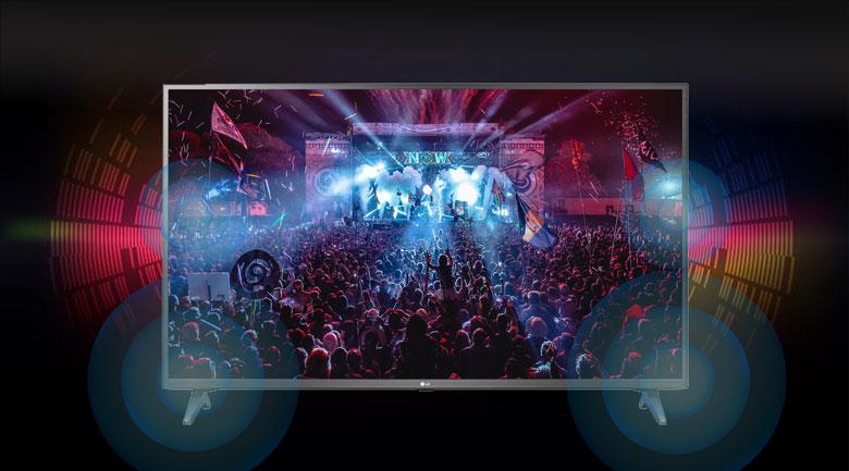 Smart Tivi NanoCell LG 4K 43 inch 43NANO75TPA - Tận hưởng âm thanh trung thực theo từng nội dung cùng công nghệ Al Sound