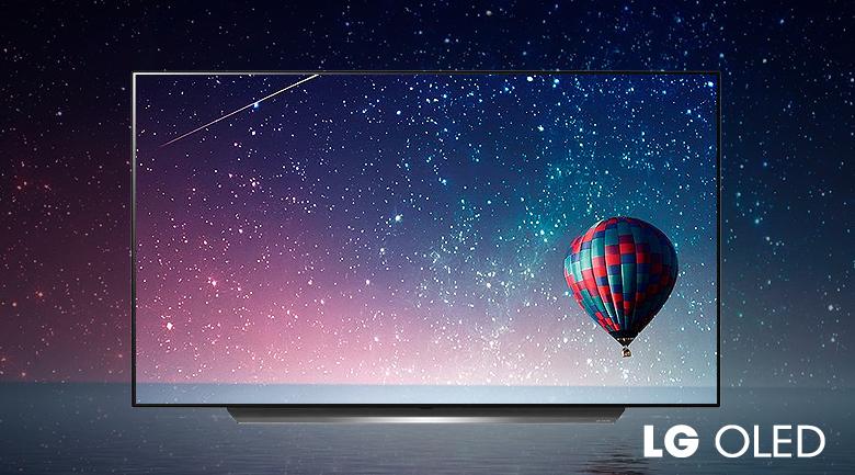 Smart Tivi OLED LG 4K 48 inch 48C1PTB - Màu đen hoàn hảo, độ tương phản vô hạn trên màn hình OLED có hàng triệu điểm ảnh tự phát sáng
