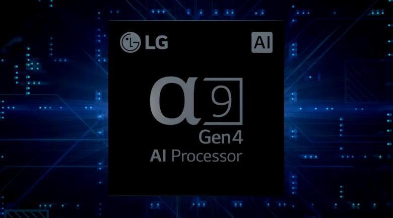 Smart Tivi OLED LG 4K 48 inch 48C1PTB - Tối ưu hóa chất lượng hình ảnh, âm thanh tự động nhờ chip AI 4K α9 thế hệ thứ 4
