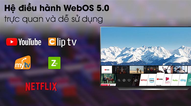 Smart Tivi OLED LG 4K 48 inch 48C1 PTB - Hệ điều hành WebOS 5.0 thân thiện, tiện dụng