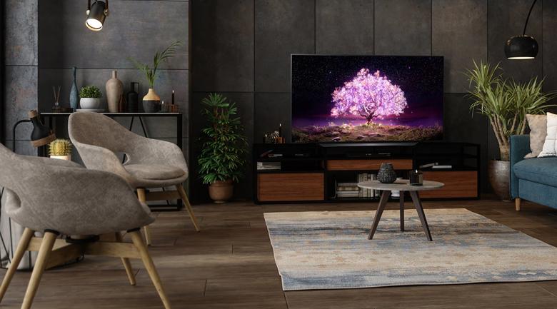 Smart Tivi OLED LG 4K 55 inch 55C1PTB  - Thiết kế