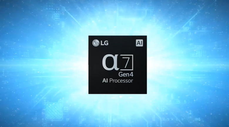 Smart Tivi OLED LG 4K 55 inch 55A1PTB - Chip
