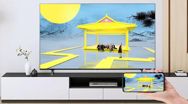 Smart Tivi OLED LG 4K 65 inch 65A1PTB - Chiếu màn hình