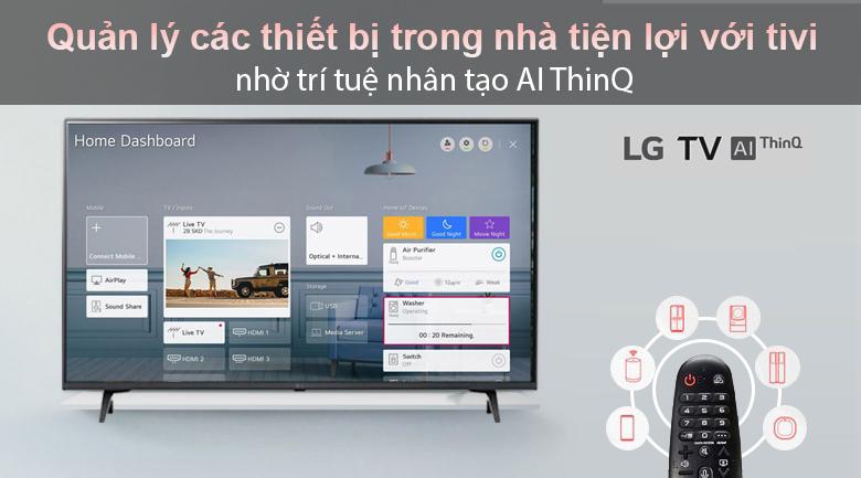 Tivi LED LG 50UP7800PTB - Điều khiển thông minh với Magic Remote