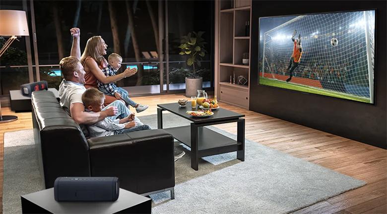 Tivi LED LG 50UP7800PTB - Đồng bộ âm thanh với các thiết bị loa ngoài