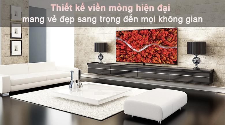Tivi LED LG 50UP7800PTB - Thiết kế siêu mỏng hiện đại