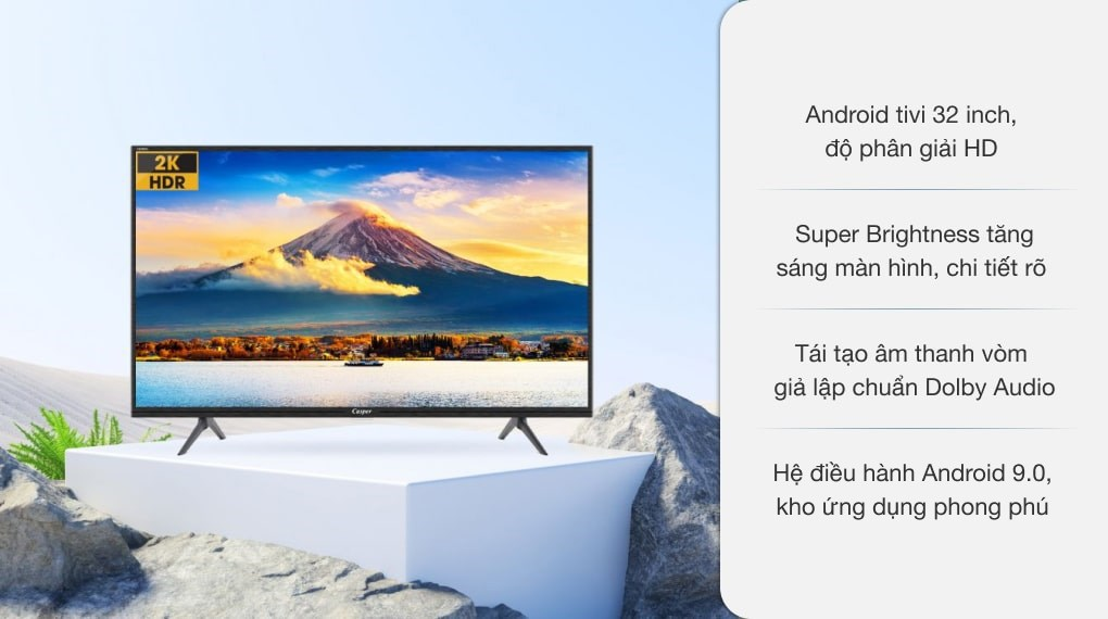Android Tivi Casper 32 inch 32HG5200