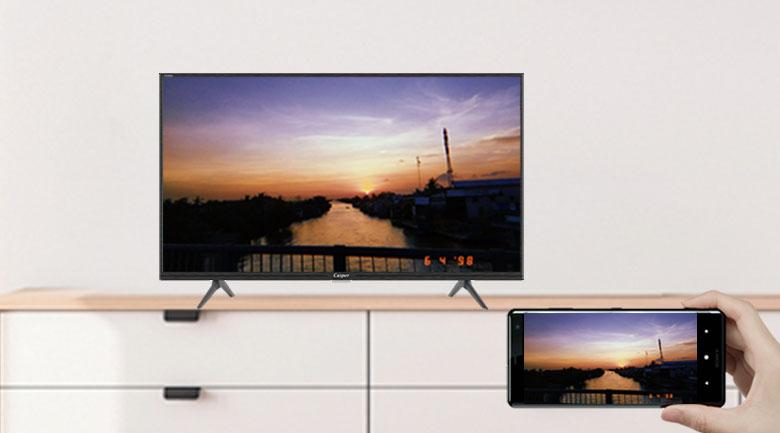 Tính năng Screen Cast - Smart Tivi Casper 32 inch 32HG5200