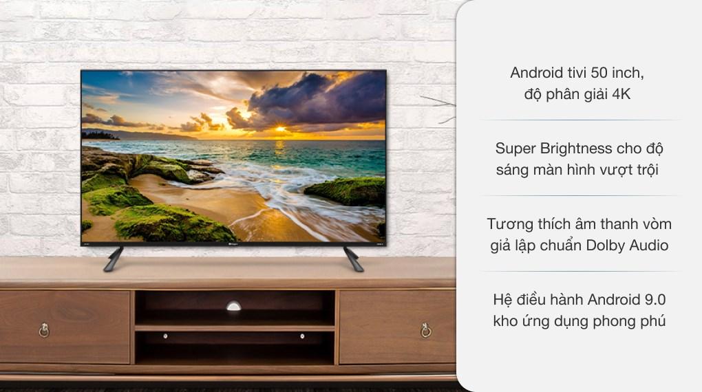 Android Tivi Casper 4K 50 inch 50UG6100
