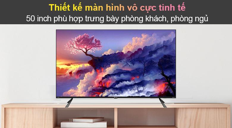Tivi Led Casper 4K 50 inch 50UG6100 - Thiết kế