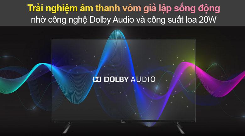 Tivi Led Casper 4K 50 inch 50UG6100 - Dolby Audio