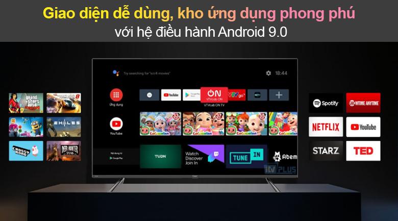Tivi Led Casper 4K 50 inch 50UG6100 - Android 9.0