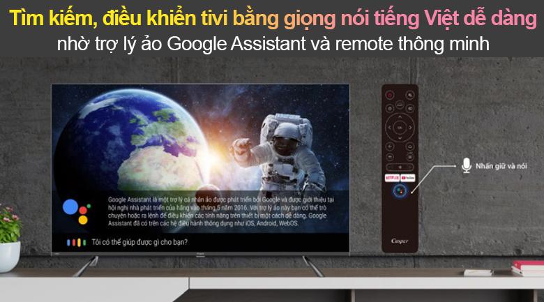 Tivi Led Casper 4K 50 inch 50UG6100 - Google Assistant