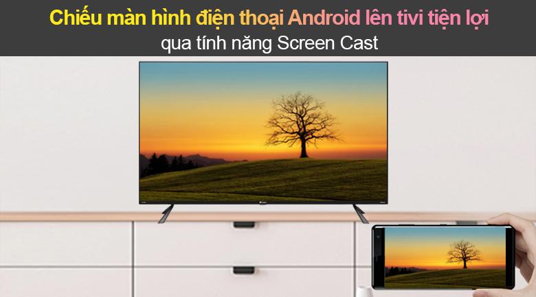 Tivi Led Casper 4K 50 inch 50UG6100 - Screen Cast