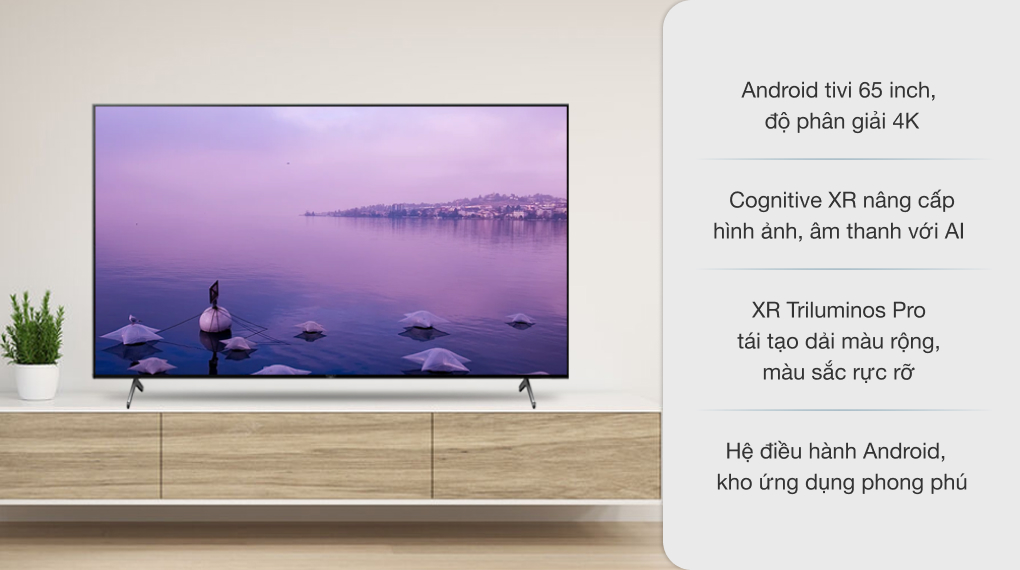 Android Tivi Sony 4K 65 inch XR-65X90J