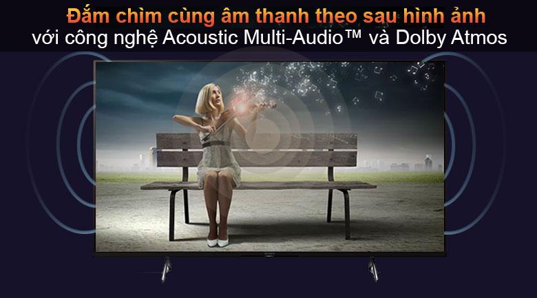 Android Tivi Sony 4K 65 inch XR-65X90J -  Acoustic Multi-Audio™ và Dolby Atmos