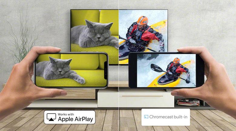Android Tivi Sony 4K 65 inch XR-65X90J - Chrome Cast, Airplay